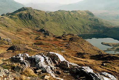 Photo from the walk - Snowdon by the Pyg and Miner's Tracks from Pen-y-pass