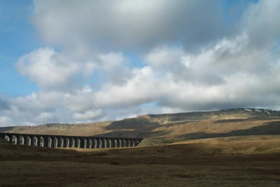 Photo from the walk - Whernside & Scales Moor from Ribblehead
