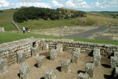 Extensive remains of Roman Occupation at Housesteads