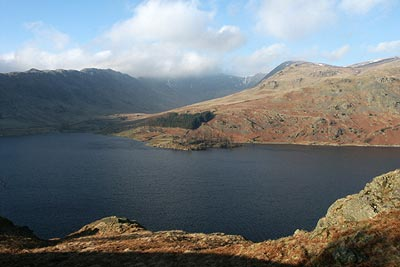 Photo from the walk - High Street & Kidsty Pike from Mardale Head