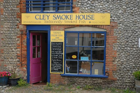 Smoked fish for sale at cley next the sea photo for Walking fish for sale