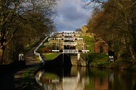 Photo from the walk - Five Rise Locks and the River Aire, Bingley