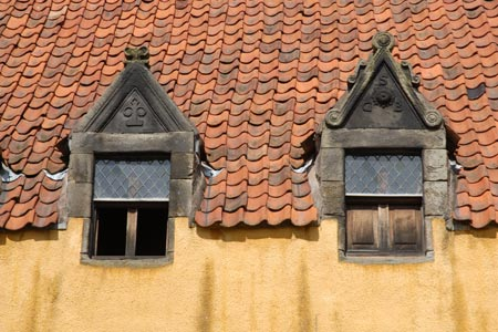 Culross - Culross Palace window detail