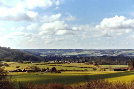 Photo from the walk - The Chilterns above Tring (short version)