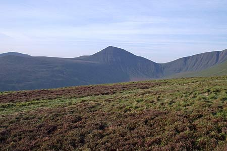 Photo from the walk - Pen y Fan from Cwmgwdi near Brecon