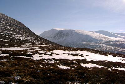 Photo from the walk - Lairig Ghru & Chalamain Gap from Glenmore