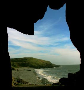 Photo from the walk - The Machars Peninsula - St Ninian's Cave