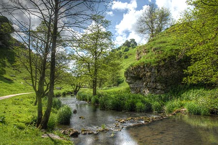 Photo from the walk - River Dove & Reynard's Lane from Hartington