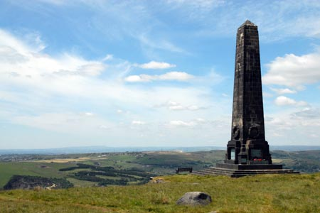 Obelisk remembers those from Uppermill who dies in War