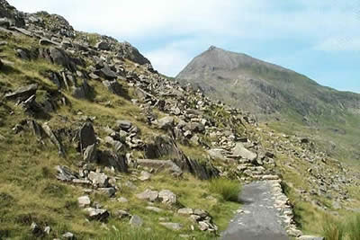 Photo from the walk - Snowdon via Crib Goch from Pen-y-pass
