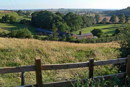 Photo from the walk - Sludge Hall & Cold Newton Grange from Billesdon