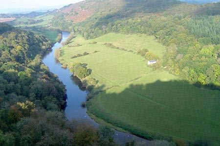 Photo from the walk - Symonds Yat Rock and the Biblins from near Symonds Yat