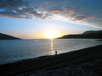 Sunset at Ullapool