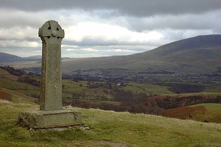 Lonscale Fell - Howell Monument