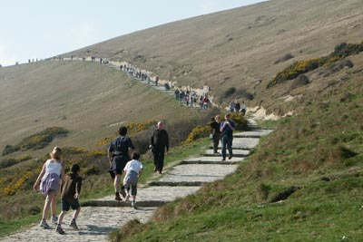 Photo from the walk - Lulworth Cove & Durdle Door