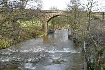 River Esk downstream from Lealholm