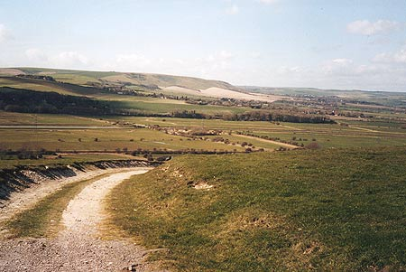 Ouse Valley from the flanks of Beddingham Hill