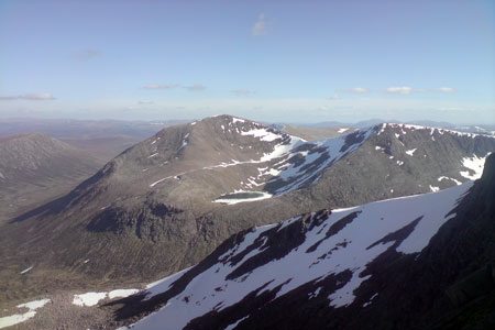 Cairn Toul from Braeriach summit