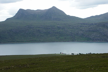Photo from the walk - Beinn Ghobhlach from Badrallach