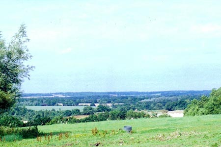 The Lea valley from near Little Berkhamsted