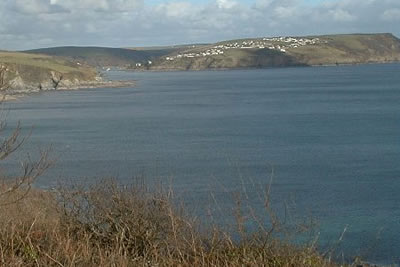 Photo from the walk - Fowey & Gribbin Head from Polkerris
