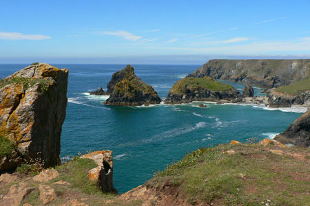 Photo from the walk - Kynance Cove & Cadgwith from the Lizard