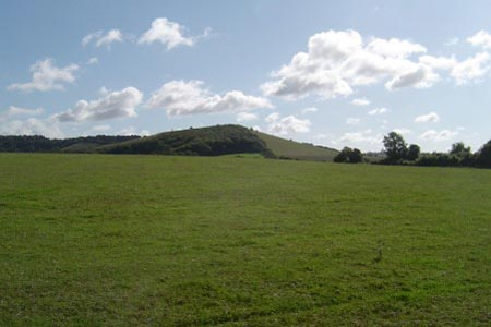 Approach to Old Winchester Hill