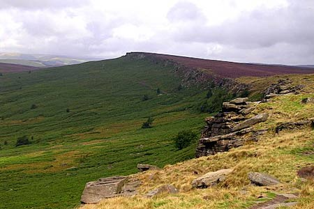 Photo from the walk - Stanage Edge from Dennis Knoll, nr. Bamford