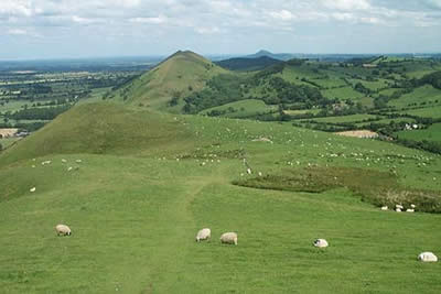 Photo from the walk - Caer Caradoc from Church Stretton