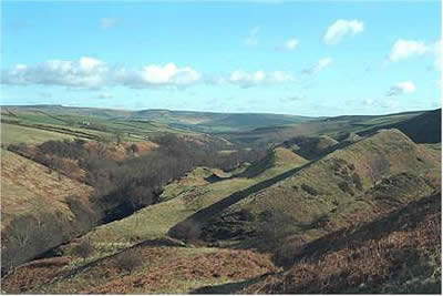 Photo from the walk - Abney Moor & Bretton Clough from Hucklow