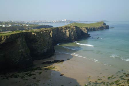 Photo from the walk - Newquay to Porthcothan