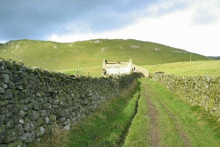 Lambert Lane and Preston's Barn near Settle