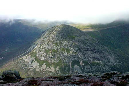 The Devil's Point from Carn 'a Mhaim summit