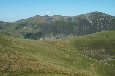 Photo from the walk - Grisedale Pike & Crag Hill from Braithwaite