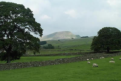 Pen-y-ghent, one of Yorkshire's
