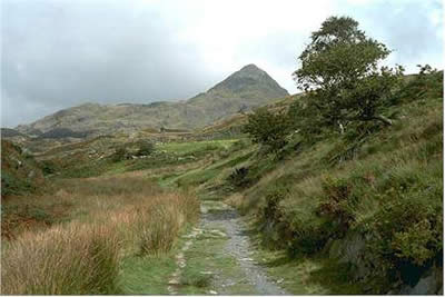 On the approach from Croesor to Cnicht