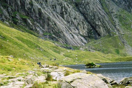 Photo from the walk - Y Garn from Ogwen Cottage (Route B)