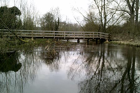 Footbridge over the River Chess