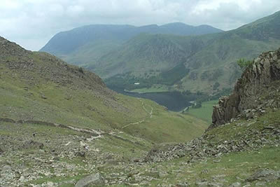 Photo from the walk - The High Stile Ridge from Gatescarth, Buttermere