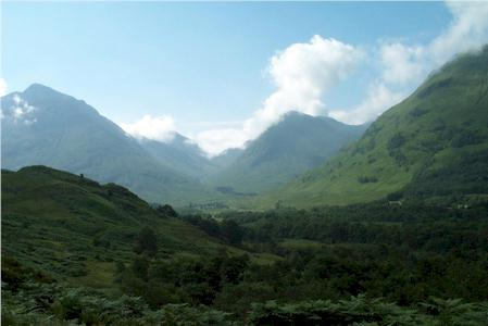 Photo from the walk - Pap of Glencoe from Glencoe Village (Route A)