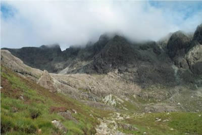 Photo from the walk - Coire Lagan, Isle of Skye