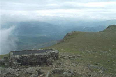 View from Cadair Idris to the Arenigs