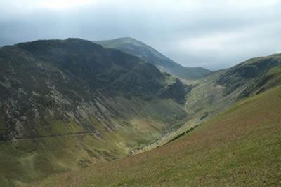 Photo from the walk - Robinson & Hindscarth from Newlands