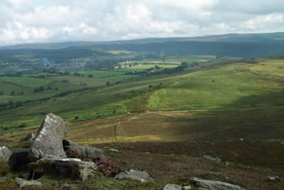 Photo from the walk - The Simonside Hills near Rothbury