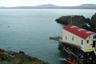 St Justinian's Lifeboat Station