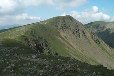 Ridge from Brown Pike to Dow Crag