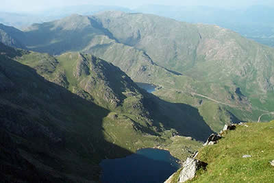 Old Man of Coniston, view NNW