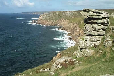 Land's End view to Cape Cornwall