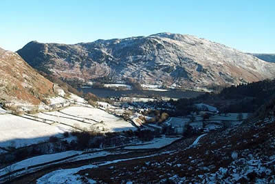 Photo from the walk - Red Tarn & Grisedale from Glenridding
