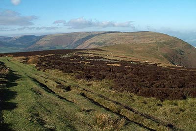 The ridge from Hatterrall Hill to Hay Bluff